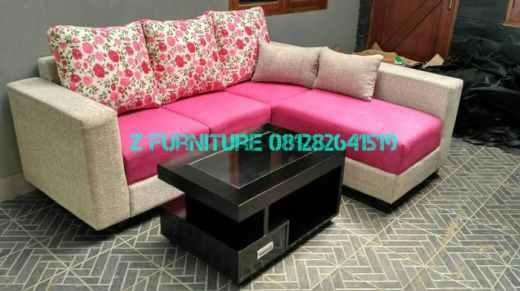 Foto Sofa Minimalis Pink