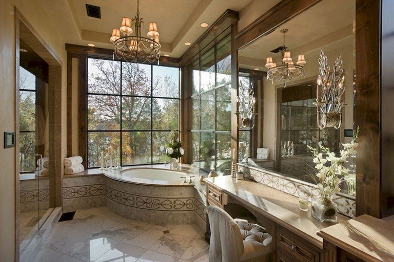 73 Marvelous Farmhouse Master Bathroom Decor Ideas And Remodel