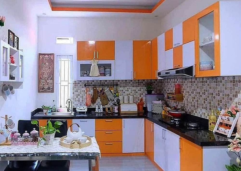 55+ Ide Desain Dapur Minimalis 3x3 Cantik Modern dan ...