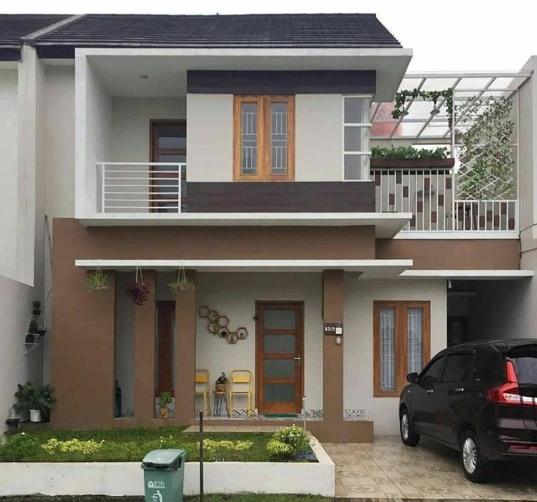 20 Desain Rumah Minimalis Modern 2 Lantai Denah Ruang Terbaru 2020