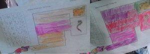 Mewarnai Menulis Puzzle Tikus dan keju
