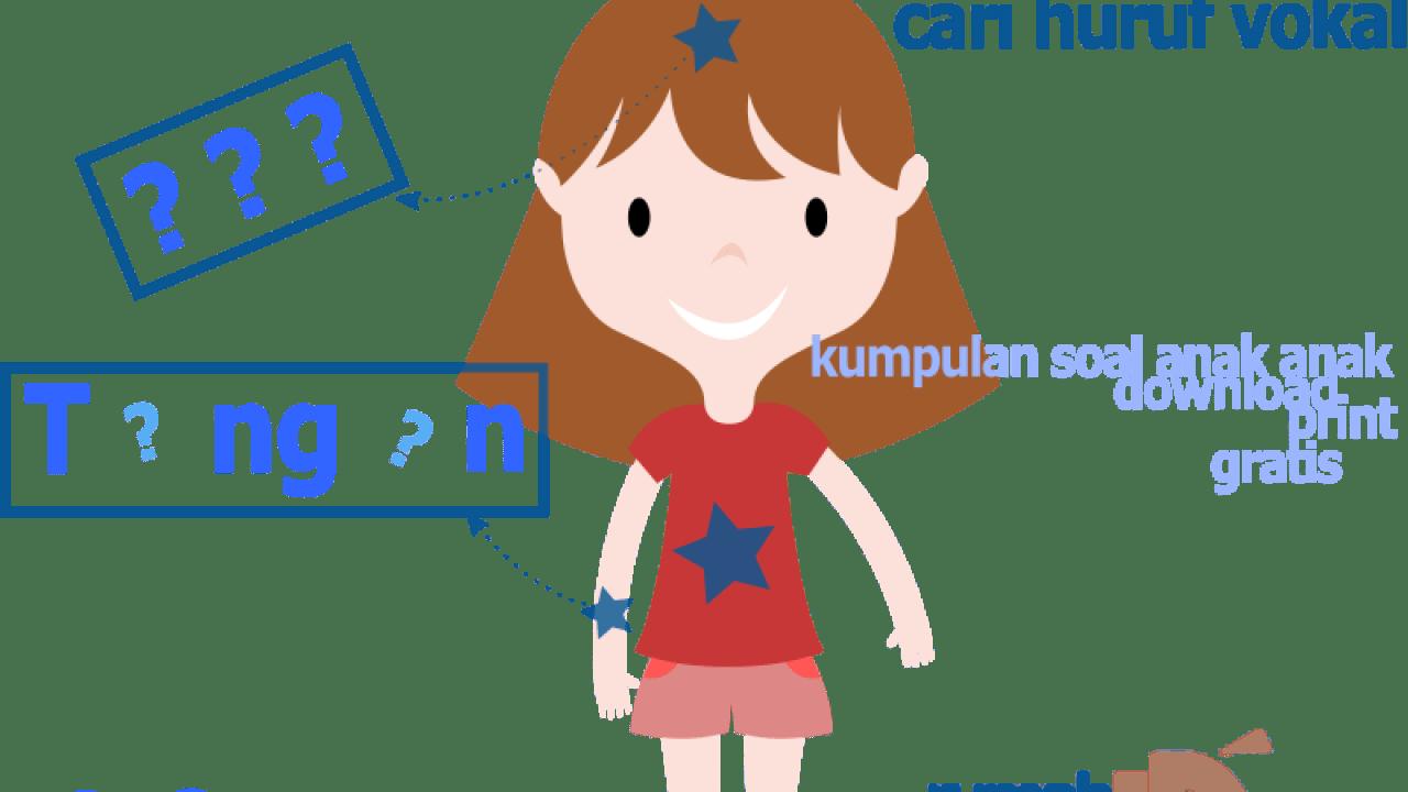 Belajar Membaca Huruf Vokal Aiueo Dengan Tema Anggota Tubuhnku Rumah Pintar