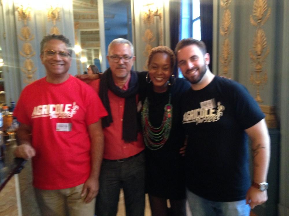 Daniel Baudin, Benoit Bail, Jerry Gittany & Jessica Toumson_Spa, October 2016