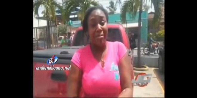 La Vega – Mujer denuncia que su ex jevo quiere quitarle la vida (VIDEO)