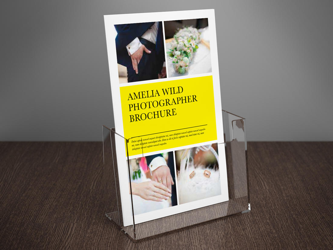 bi fold brochure template half moon rumble design store. Black Bedroom Furniture Sets. Home Design Ideas