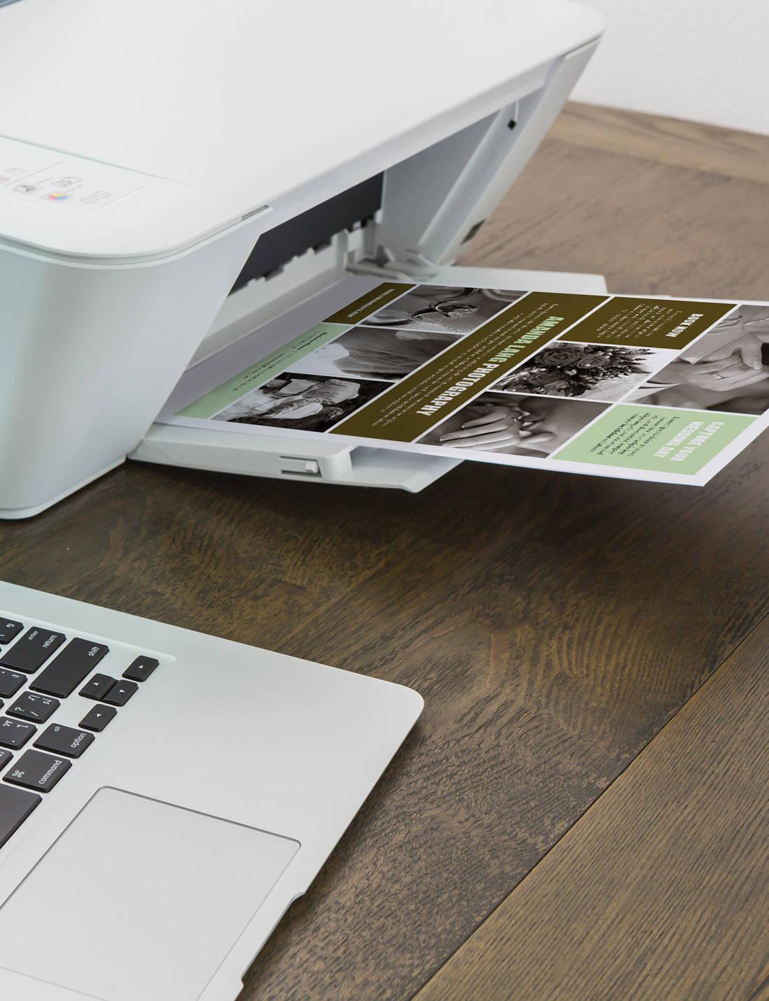 flyer brochure template vector exquisite single page flyer design