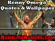 Kenny Omega Quotes & Wallpaper!