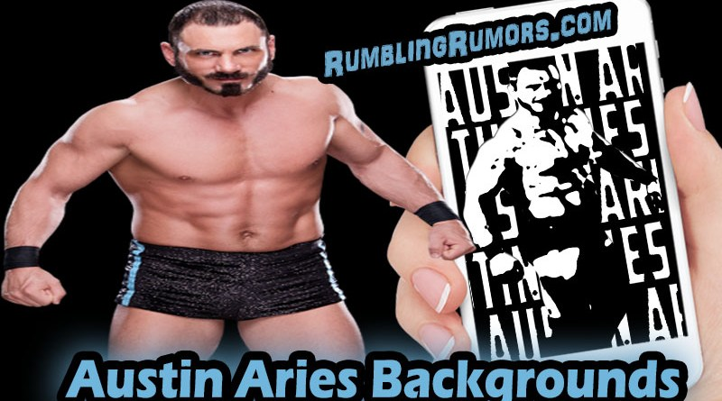 Austin Aries HD Backgrounds!