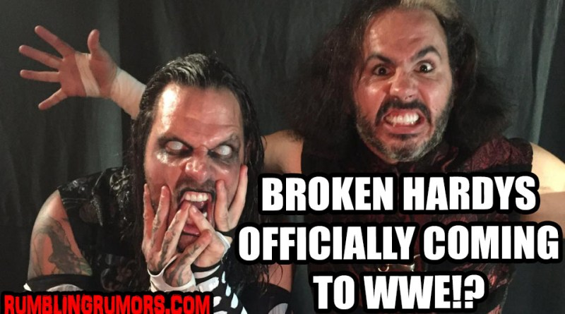 Matt Hardy's Online Store Has Been DELETED, Hardys to WWE Now Official?