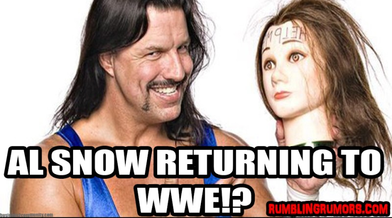 AL Snow Talks on Returning To The WWE & MORE!