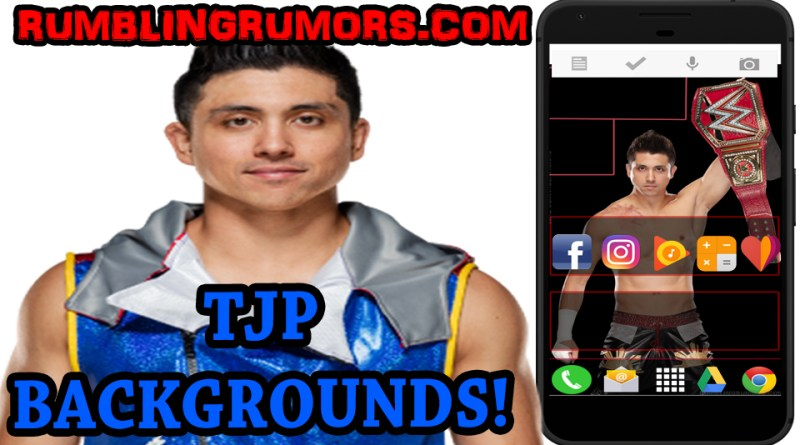 TJ Perkins WWE Backgrounds!
