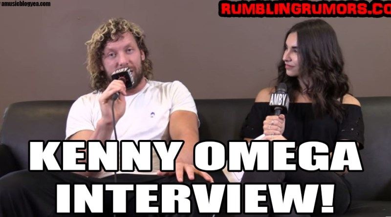 "Interview with The Worlds Hottest Indie Wrestler: ""The Cleaner"" Kenny Omega"