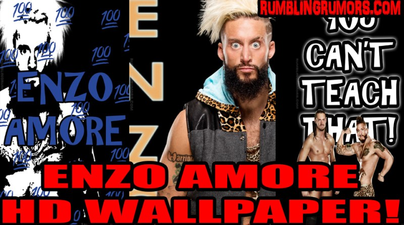 Enzo Amore HD Wallpaper!