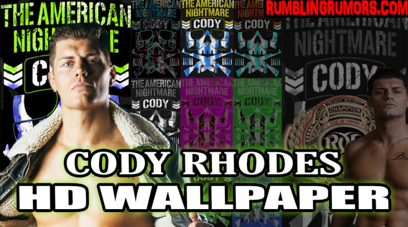 "Cody Rhodes ""American Nightmare"" HD Wallpaper!"