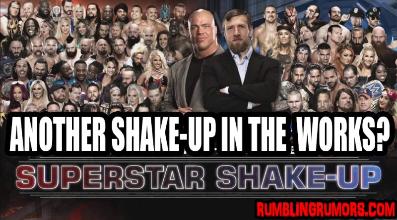 WWE Planning Another Superstar Shakeup, With Stars Going To NXT!
