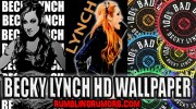 Becky Lynch HD Wallpaper!