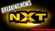 Breaking: Three NXT Stars Have Been Released This Week.