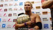 IWGP Champion Okada Throws Some Shade On WWE's SAnitY.