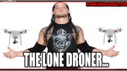 Baron Corbin On A Beach By Himself Playing With A Drone...(Video).
