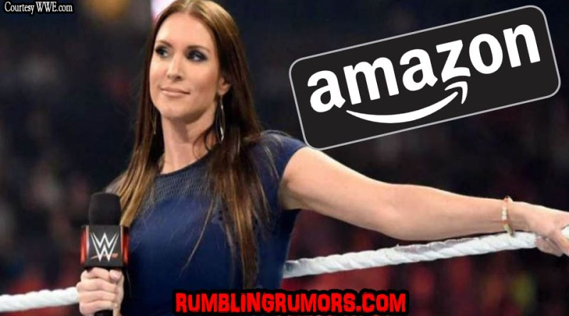 Stephanie McMahon On WWE Live Streaming On Amazon.