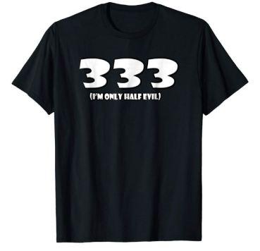 333 t shirt