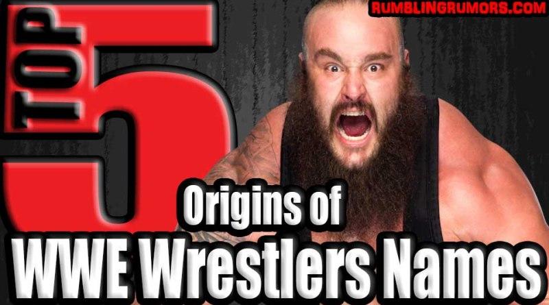 5 Origins of WWE Wrestlers Names