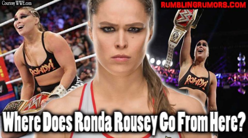 Where Does Ronda Rousey Go From Here?