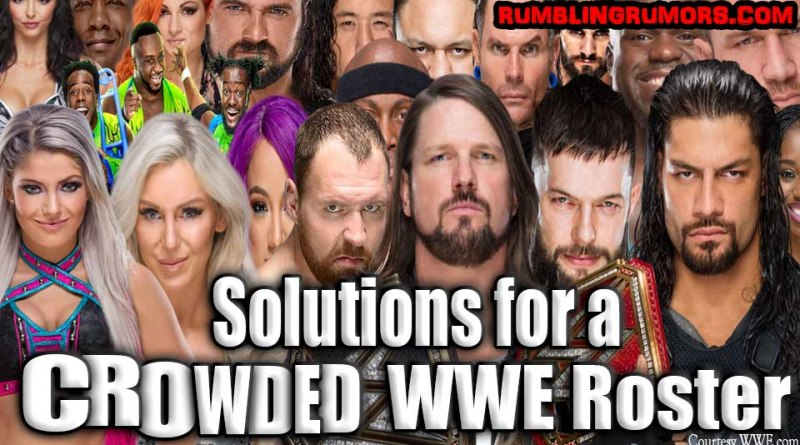 Solutions for a Crowded WWE Roster