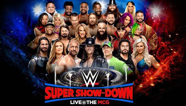 WWE Super Show-Down, Updated Match Card, Time, Location and More.