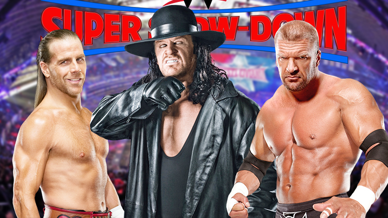 The Undertaker Vs. Triple H – One of Three & a Half Ways