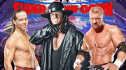 The Undertaker Vs. Triple H – One of Three & a Half Ways.