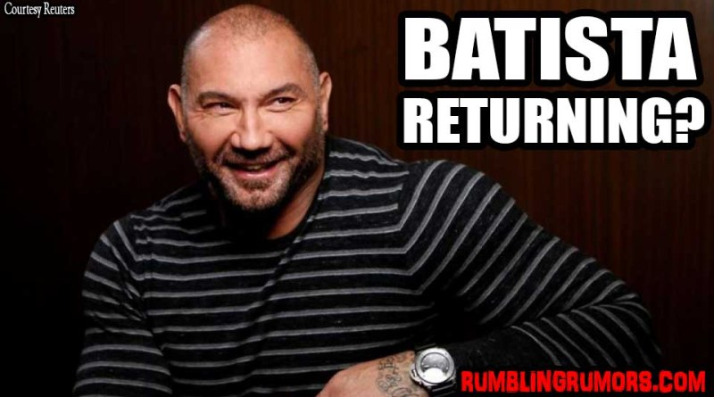 batista returning to wwe 2018