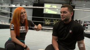 becky lynch trained by finn balor