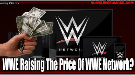 WWE Raising the price of wwe network