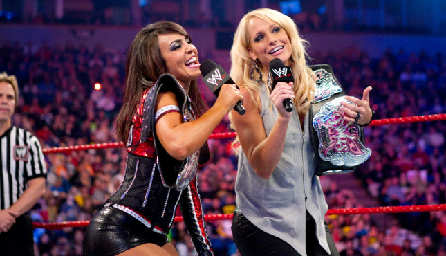 Two Former WWE Divas Tease Return.