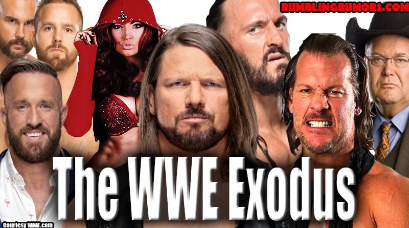 The WWE Exodus