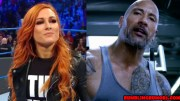 The Rock and Becky Lynch Tease Future Intergender WWE Match.