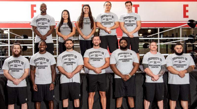 Twelve Signed Recruits Report For Training Today At The WWE Performance