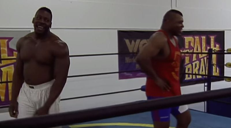 "Booker T Grapples With Former Marine Craig ""Pitbull"" Pittman (Hidden Gem Video From 1998)."