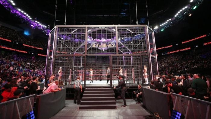 New Stipulation Added To Match At WWE Elimination Chamber.