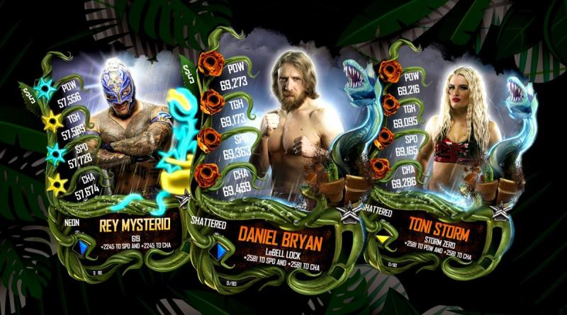 WWE SuperCard Announces New Superstar Cards For Spring 2019