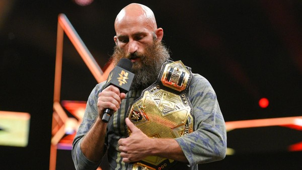 NXT Champion Tommaso Ciampa's Chaotic Appearance Cancelled