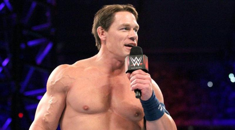 John Cena Calls Baron Corbin a Dumpster Fire.