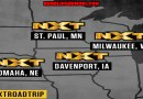 NXT Live Announces Midwest Tour: Nebraska, Iowa, Wisconsin and Minnesota in April.