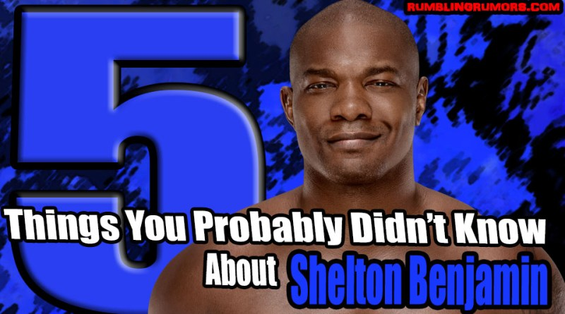5 Things You Probably Didn't Know About Shelton Benjamin