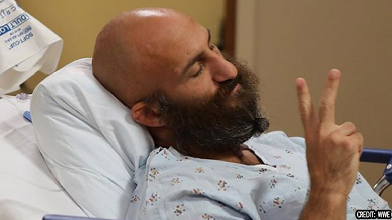 "Tommaso Ciampa Neck Surgery Update ""I will be on borrowed time""."