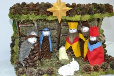 Rodzinny Konkurs Szopek Bożonarodzeniowych