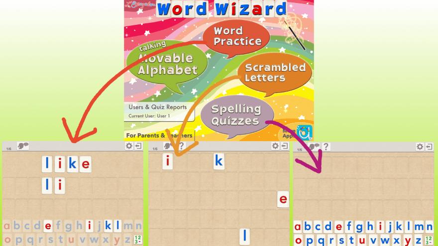 WordWizardの3つのモード