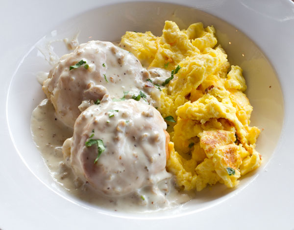 biscuits-with-Sausage-gravy