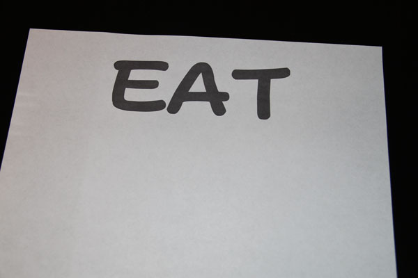 Words-printed-on-paper